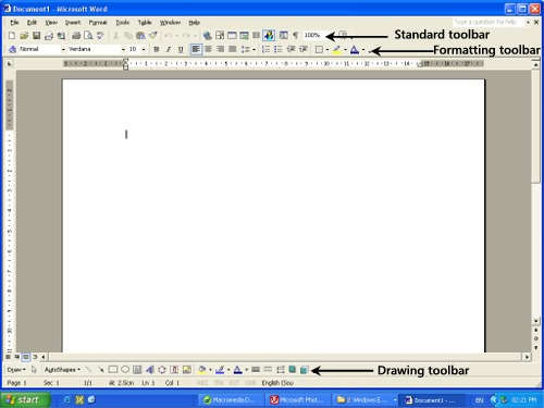 how to put insert equation in word in tool bar