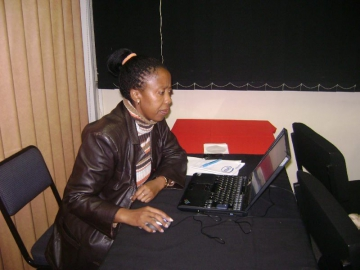 Aug 2007 Abel Motshoane Training
