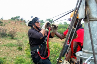Dec 2014 Christmas Party and Zipling