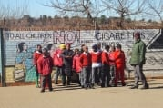 July 2012-07-18 Touchable Earth at Lakeview Primary Soweto