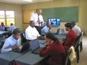 March 2014 DOC-DBE launch Schools Connectivity Project FIFA Legacy Funds