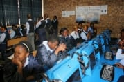 Oct 2013 Visit of Obum Ekeke from Google to Ekangala C School
