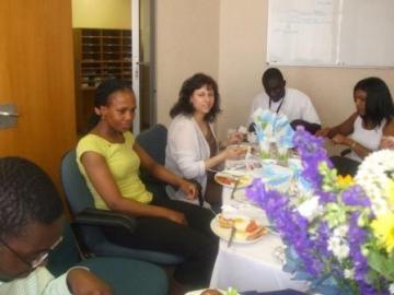 Oct 2007 SNSA staff - Seretaries day