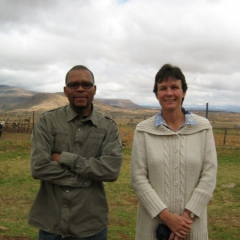 Themba Mabaso & Pam Robertson