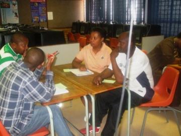 Sept 2007 Soweto Peer Coach Session 2
