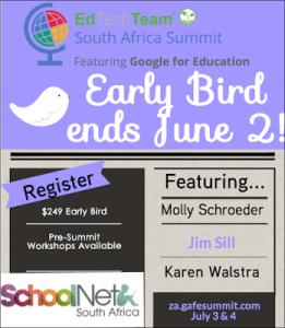 Google summit-early bird