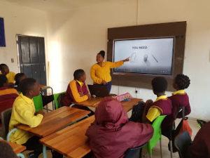 Schoolnet teachers at work